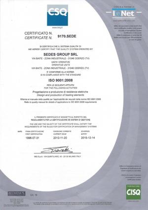 ISO 9001/2000 CISQ