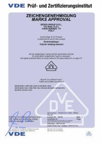 VDE Certyfikat